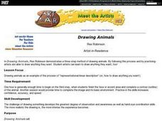 Drawing Animals Lesson Plan