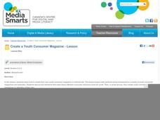 Create a Youth Consumer Magazine Lesson Plan