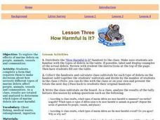 How Harmful Is It? Lesson Plan