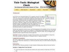 Tick-Tock: Biological Clock Lesson Plan