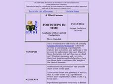 FOOTSTEPS IN TIME Lesson Plan