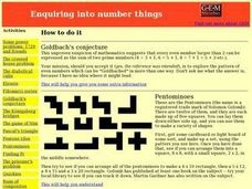 Enquiring into Number Things: Math, Numbers Activities & Project
