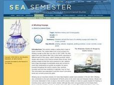 A Whaling Voyage Lesson Plan