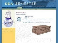 Packing a Sea Chest Lesson Plan