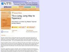 'Tis a Long, Long Way to Tipperary! Lesson Plan