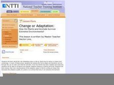 Change or Adaptation Lesson Plan
