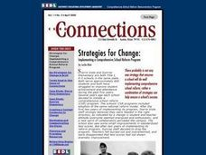 Strategies for Change: Implementing a Comprehensive School Reform Program Lesson Plan