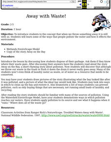 Away with Waste! Lesson Plan