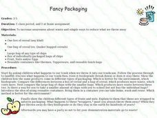 Fancy Packaging Lesson Plan