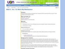 Match My Masterpiece Lesson Plan