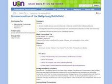 Commemoration of the Gettysburg Battlefield Lesson Plan