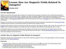 How Are Magnetic Fields Related To Sunspots? Lesson Plan