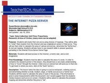 The Internet Pizza Server - Creating Your Own Pizza Lesson Plan