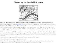 Warm up to the Gulf Stream Lesson Plan