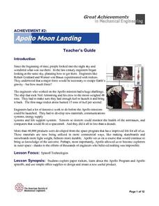 Apollo Moon Landing Lesson Plan