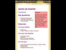 Keeps on Pumping Lesson Plan