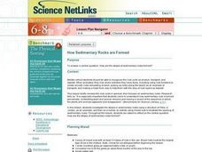 How Sedimentary Rocks are Formed Lesson Plan