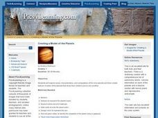 Creating a Model Of The Planets Lesson Plan