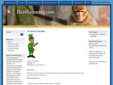 St. Patrick's Day Math Lesson Plan