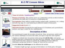 Tumbling Dice Lesson Plan