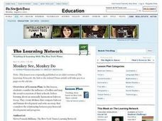 Monkey See, Monkey Do Lesson Plan