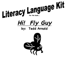 Literacy Language Kit for the Book Hi! Fly Guy Graphic Organizer