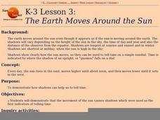 The Earth Moves Around the Sun Lesson Plan