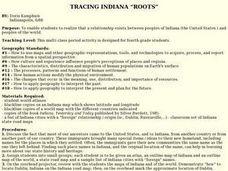 "TRACING INDIANA ""ROOTS"" Lesson Plan"