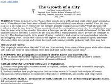 The Growth Of A City Lesson Plan