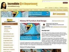 Funktafying Furniture Lesson Plan