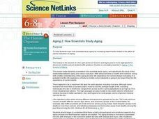 Aging 2:  How Scientists Study Aging Lesson Plan