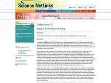 Aging 1: The Science of Aging Lesson Plan