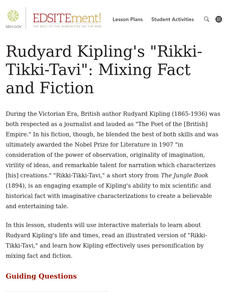 "Rudyard Kipling's ""Rikki-Tikki-Tavi"": Mixing Fact and Fiction Lesson Plan"