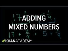 Adding Mixed Numbers Video
