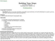 Building Topo Maps Lesson Plan