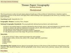 Tissue Paper Geography Lesson Plan
