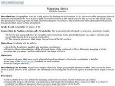 Mapping Africa Lesson Plan