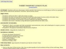 T-shirt Passport Lesson Plan Lesson Plan