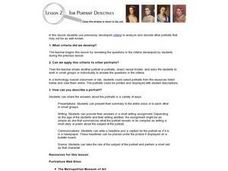 Lesson 2 for Portrait Detectives Lesson Plan