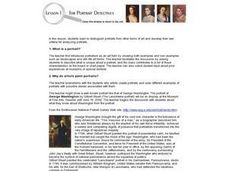 Portrait Detectives Lesson Plan