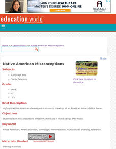 Native American Misconceptions Lesson Plan