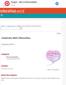 Celebrate With Silhouettes Lesson Plan