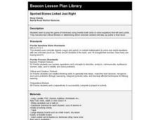 Spotted Stones Linked Just Right Lesson Plan