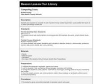 Computing Costs Lesson Plan