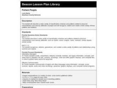 Pattern People Lesson Plan