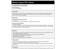 Is There Room on the Bus? Lesson Plan