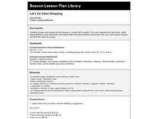 Let's Go Value Shopping Lesson Plan