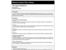 The Large and Small of It Lesson Plan
