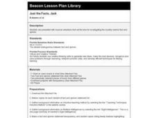 Just the Facts, Jack Lesson Plan