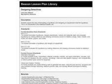 Designing Detectives Lesson Plan